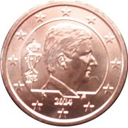 2 cents d'euro Philippe -  avers