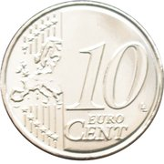10 cents d'euro Philippe -  revers