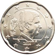 20 cents d'euro Philippe -  avers