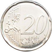 20 cents d'euro Philippe -  revers