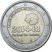 2 euros 1ère Guerre mondiale -  avers