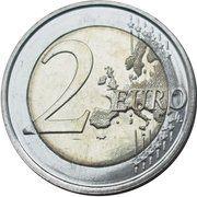 2 euros 1ère Guerre mondiale -  revers
