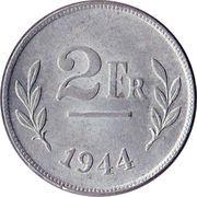 2 francs - type Libération -  revers