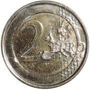 2 euros Année européenne pour le développement -  revers