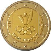 2 euros JO 2016 Jeux d'été de Rio de Janeiro -  avers