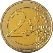 2 euros JO 2016 Jeux d'été de Rio de Janeiro -  revers