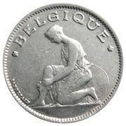 1 franc - Albert Ier - type Bonnetain (en français) -  avers