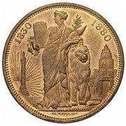 Module de 10 centimes – revers