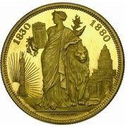 Module de 100 francs – revers