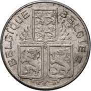 50 centimes - Léopold III -  avers