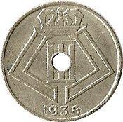 10 centimes - Léopold III (Belgique-Belgie) -  avers