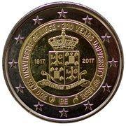 2 euros Université de Liège -  avers