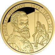 100 Euro - 500th Anniversary of the Birth of Andreas Vesalius -  avers