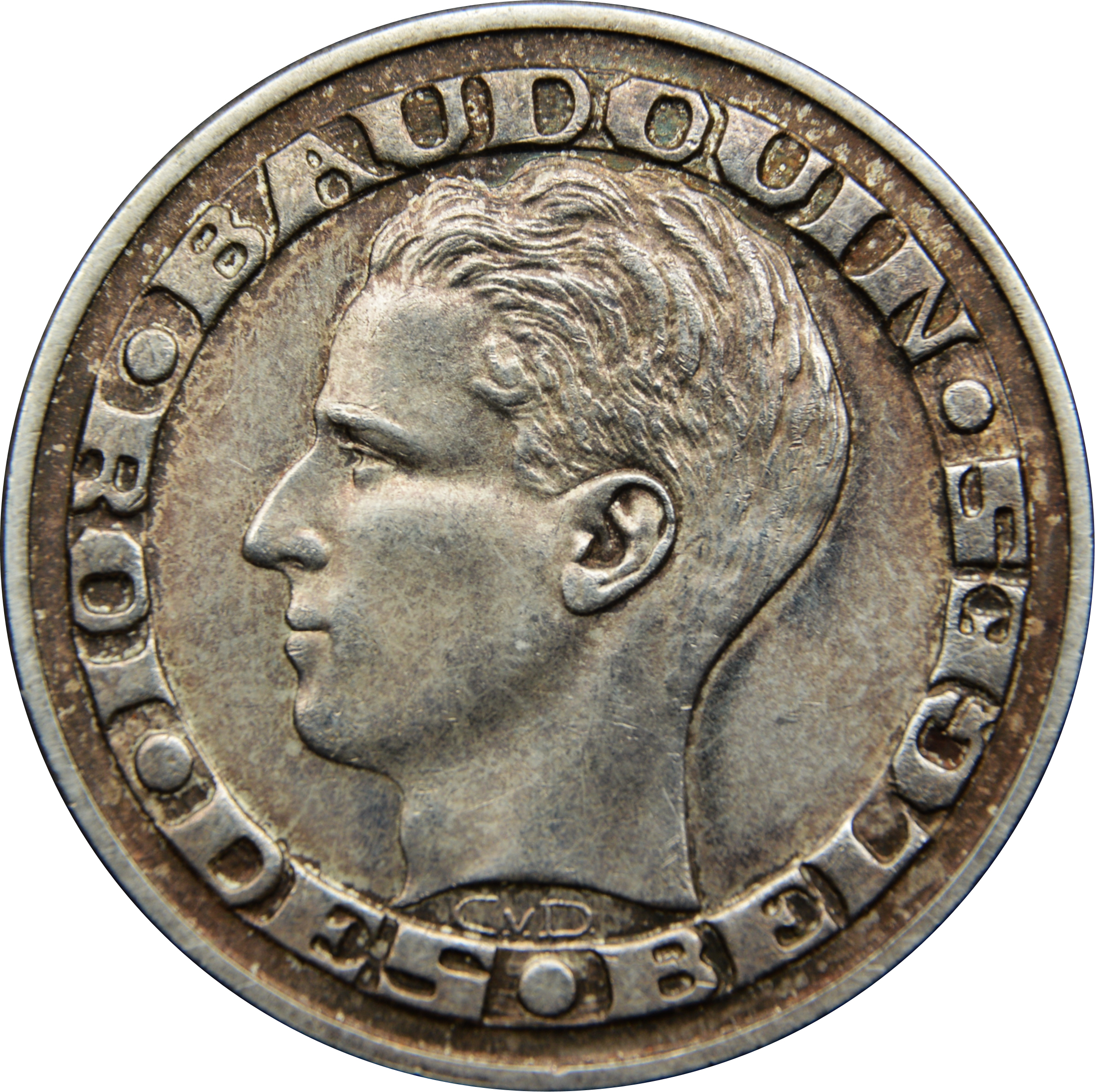 50 francs - baudouin - expo 1958  en fran u00e7ais