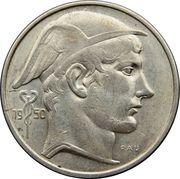 50 francs - Prince Charles - type Mercure (en néerlandais) – avers
