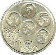 500 francs - 150 ans de l'indépendance de la Belgique (en néerlandais) -  avers