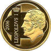 12½ euros Roi Léopold Ier – avers