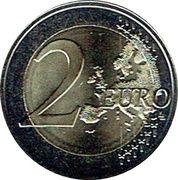 2 euros Université de Gand -  revers