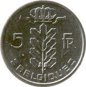 5 francs - type Cérès (en français) -  revers