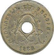 10 centimes - Albert Ier - type Michaux (en néerlandais) -  avers