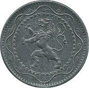 5 centimes - Albert Ier - Occupation -  avers