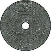 5 centimes - Léopold III - type Jespers (Belgie-Belgique) – revers