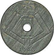 10 centimes - Léopold III - type Jespers (Belgique-Belgie) -  revers