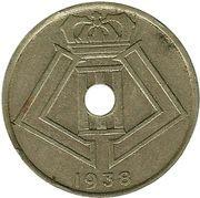 25 centimes - Léopold III (Belgique-Belgie) -  avers