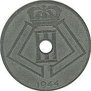 25 centimes - Léopold III - type Jespers (Belgie-Belgique) -  avers