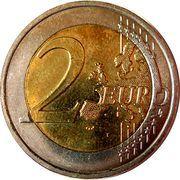 2 euros Droits de l'homme -  revers