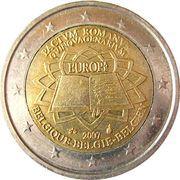 2 euros Traité de Rome -  avers