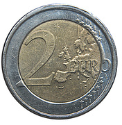 2 euros Albert II (2e carte, 2e type, 2e effigie) -  revers