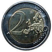 2 euros Journée des droits de la femme -  revers