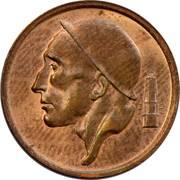 20 centimes - type Mineur (en néerlandais) -  avers