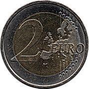 2 euros ESRO-2B – revers