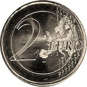 2 euros Institut monétaire européen -  avers