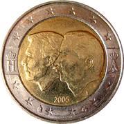 2 euros Union économique Belgo-Luxembourgeoise -  avers