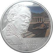 10 euros Paul Delvaux -  avers