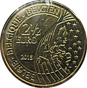 2,5 euros Bataille de Waterloo -  avers