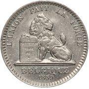 20 centimes (Essai) -  revers