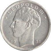 20 francs - Léopold III -  avers