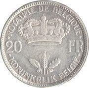 20 francs - Léopold III -  revers