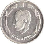 500 francs - 60ème anniversaire du Roi Baudouin (en néerlandais) – avers