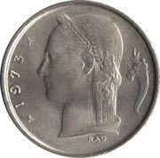 1 franc - type Cérès (en néerlandais) -  avers