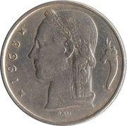 5 francs - type Cérès (en néerlandais) -  avers