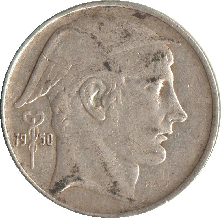 20 francs - prince charles - type mercure  en fran u00e7ais