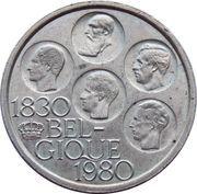 500 francs - 150 ans de l'indépendance de la Belgique (en français) – avers