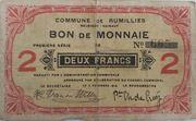 2 Franc 1914 – avers