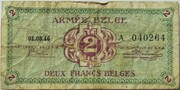 2 Francs (Army Issue) – avers
