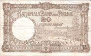 20 Francs Type 1926 Trésorerie – revers